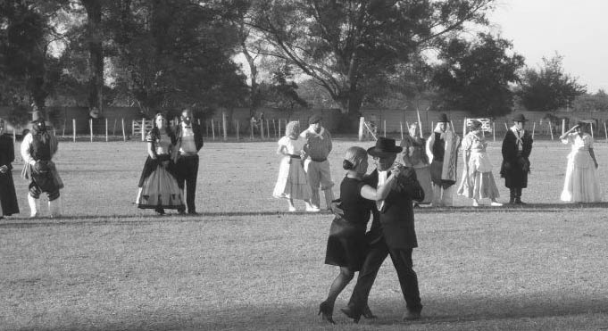 tango en el campo