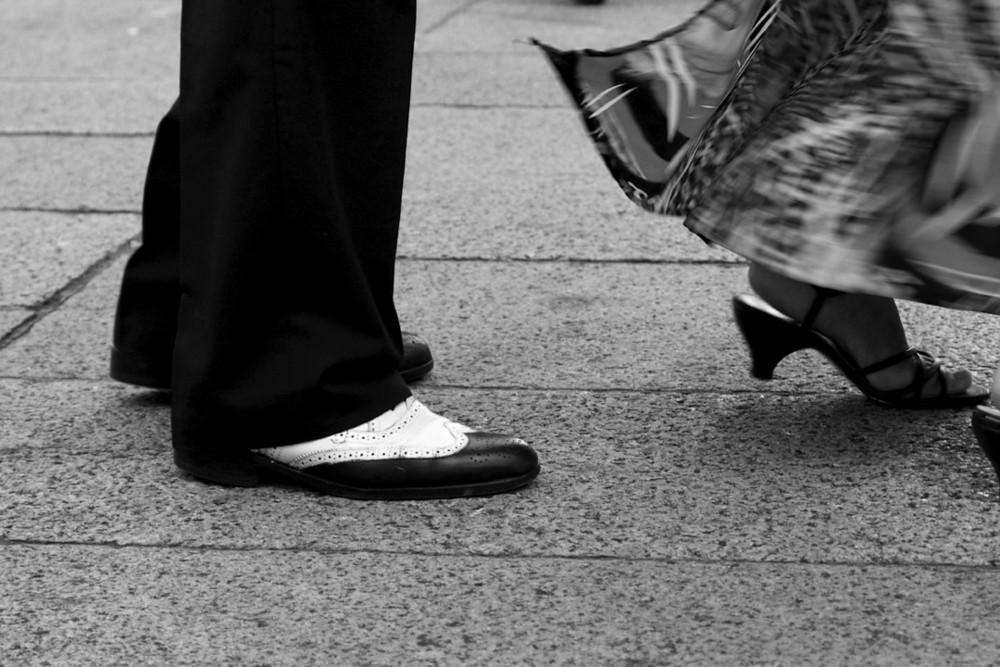 Tango uruguayo Füsse