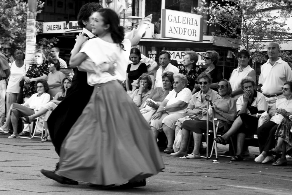 Tango uruguayo Kinderpärchen