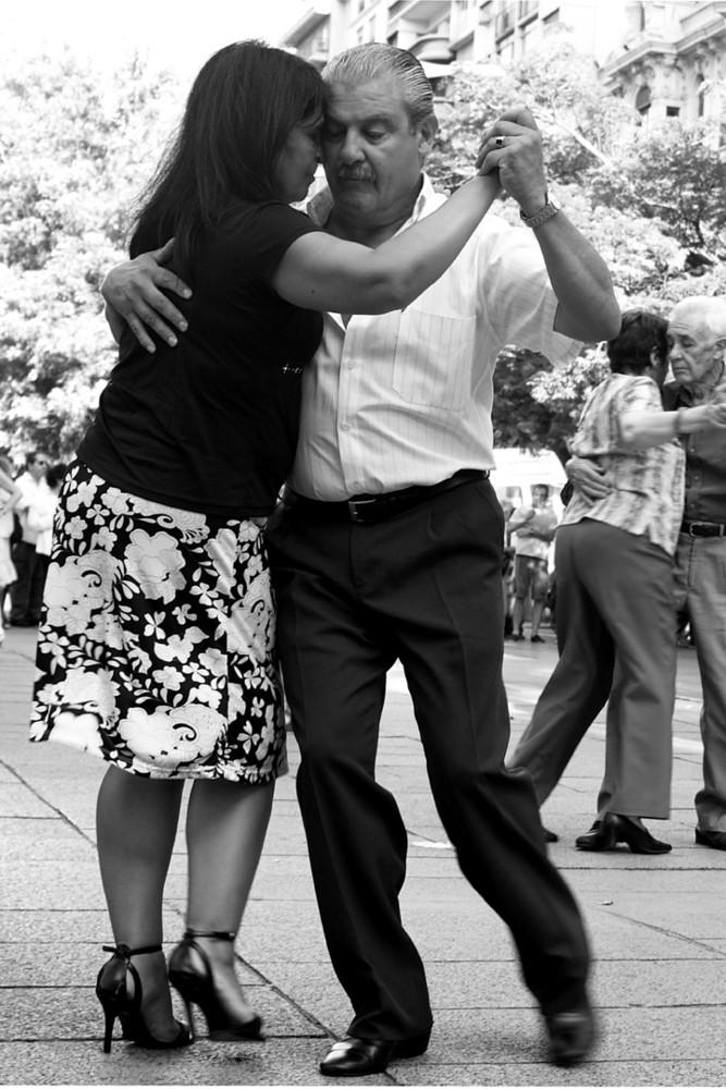 Tango uruguayo- Pärchen
