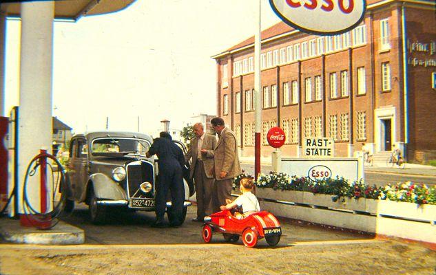 tanken - um 1950