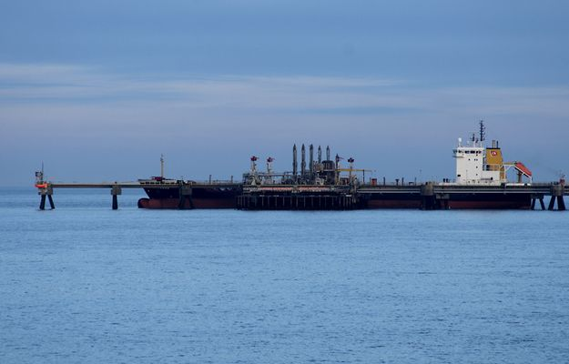 Tanker in Wilhelmshaven