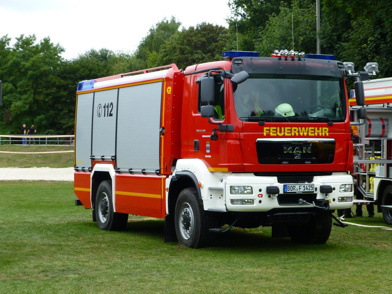 Tanklöschfahrzeug TLF 4000 der Feuerwehr Stadtlohn / Kreis Borken