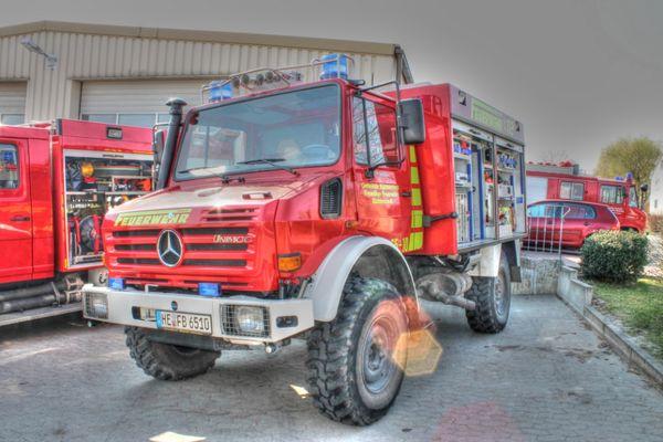 Tanklöschfahrzeug TLF 8/18 Feuerwehr Büddenstedt