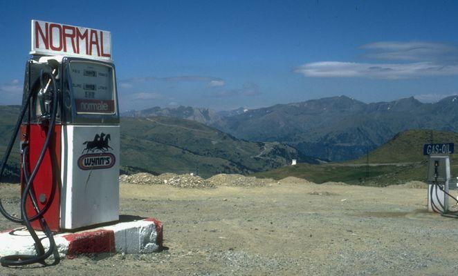 Tankstelle in Andorra