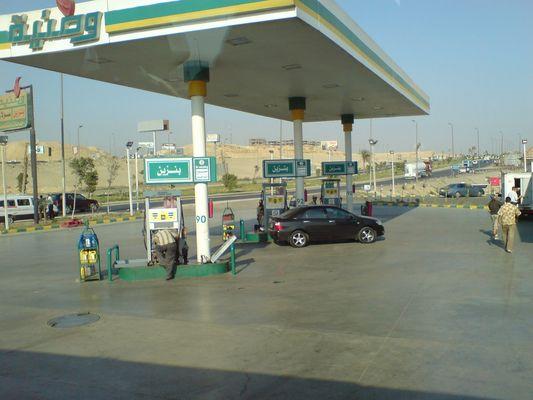 Tankstelle in Cairo