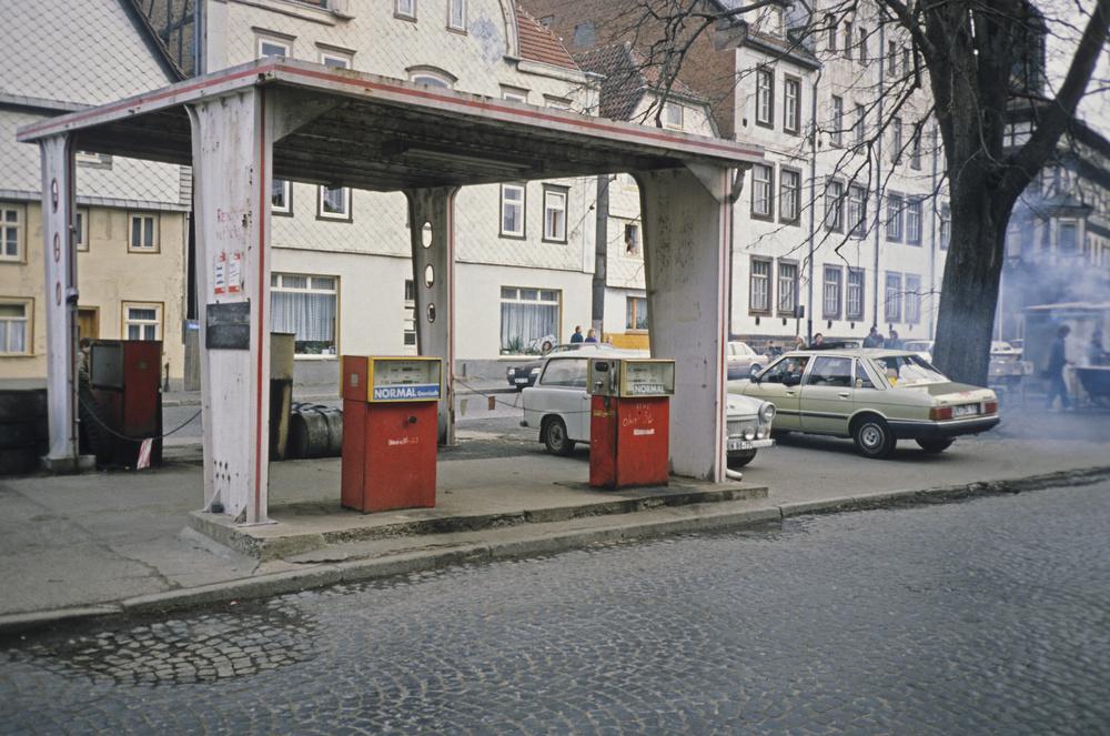 Tankstelle in der ddr foto bild deutschland europe