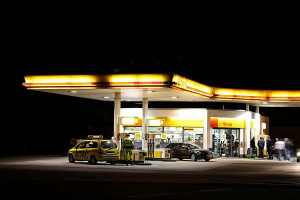 Tankstelle kurz vor dem Autobahnkreuz Schüttorf