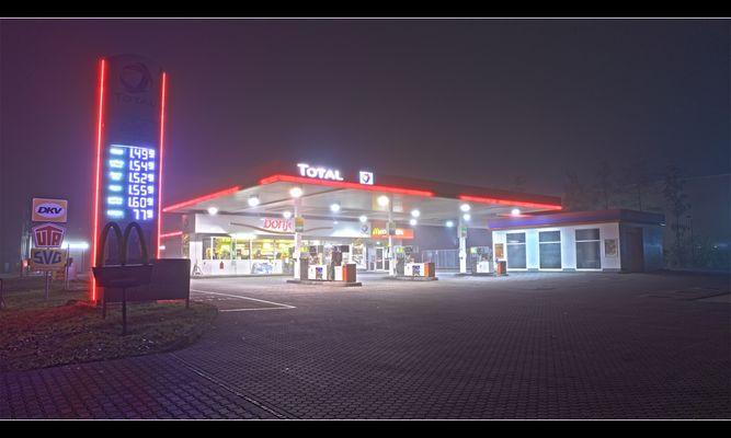 Tankstelle Total