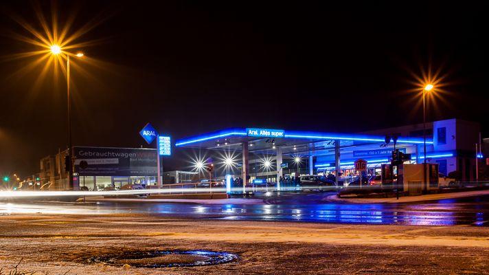 Tankstelle Winter III