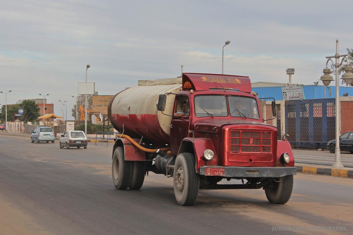 Tankwagen Ägypten
