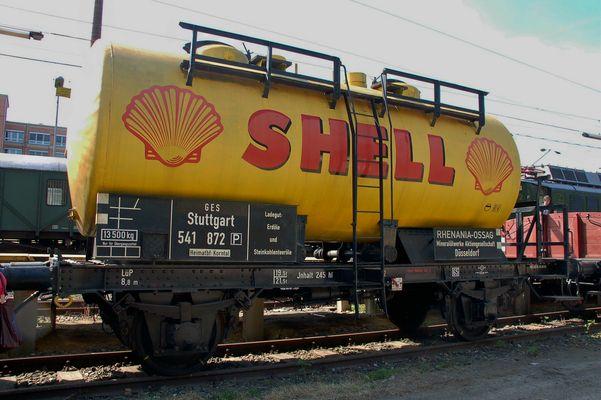 Tankwagen Shell