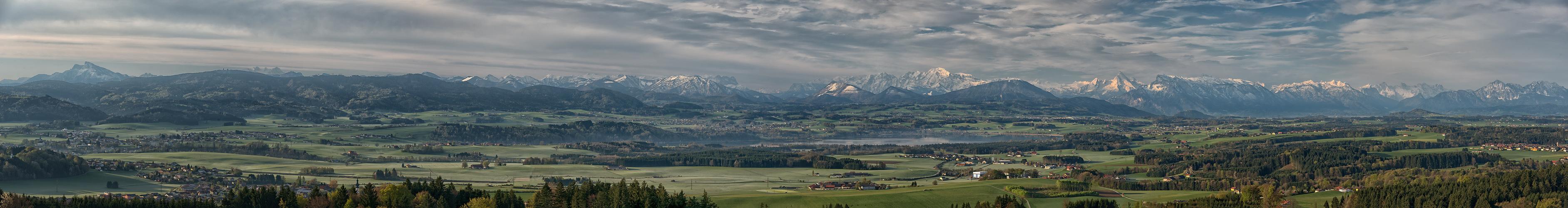 Tannberg Blick ins Alpenvorland