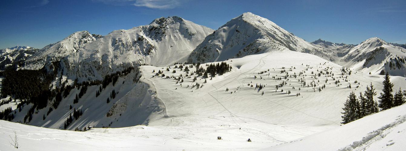 Tannheimer Skitourenberge