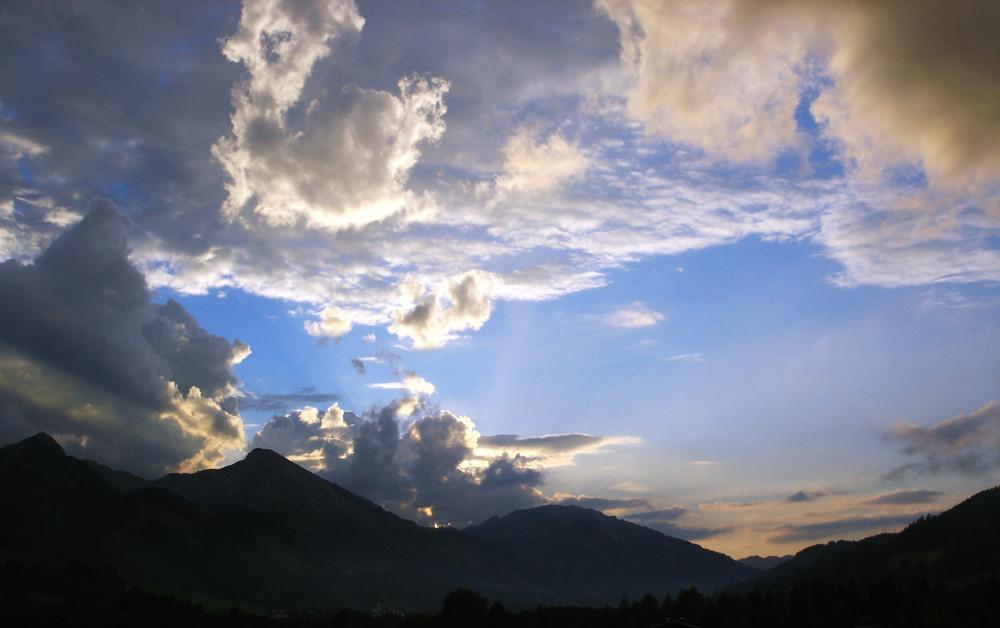 Tannheimer Wolken