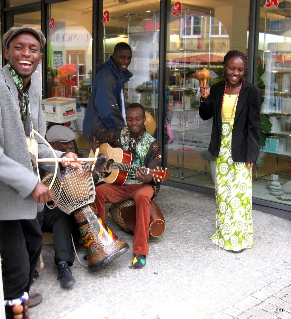 Tansania auf dem Mittwochsmarkt