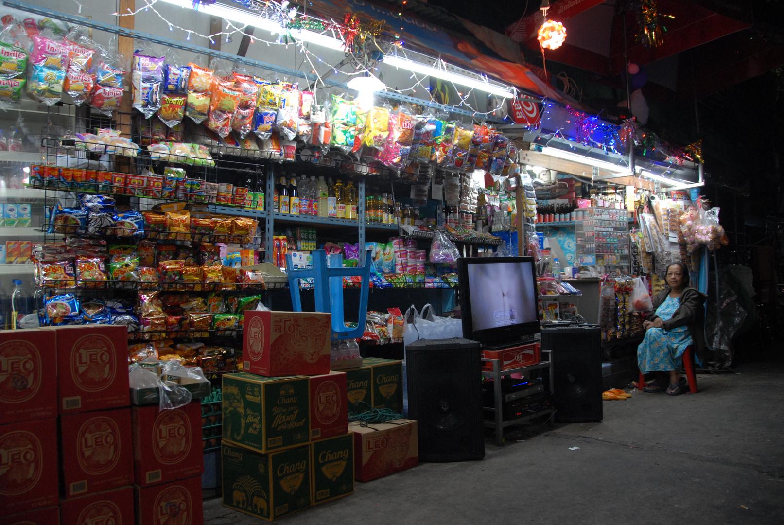 Tante Emmaladen in Bangkok im Stadtteil Banglamphu