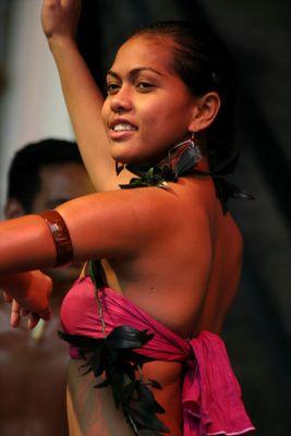 Tanz auf dem Markt der Kulturen in Pirna (Sachsen)
