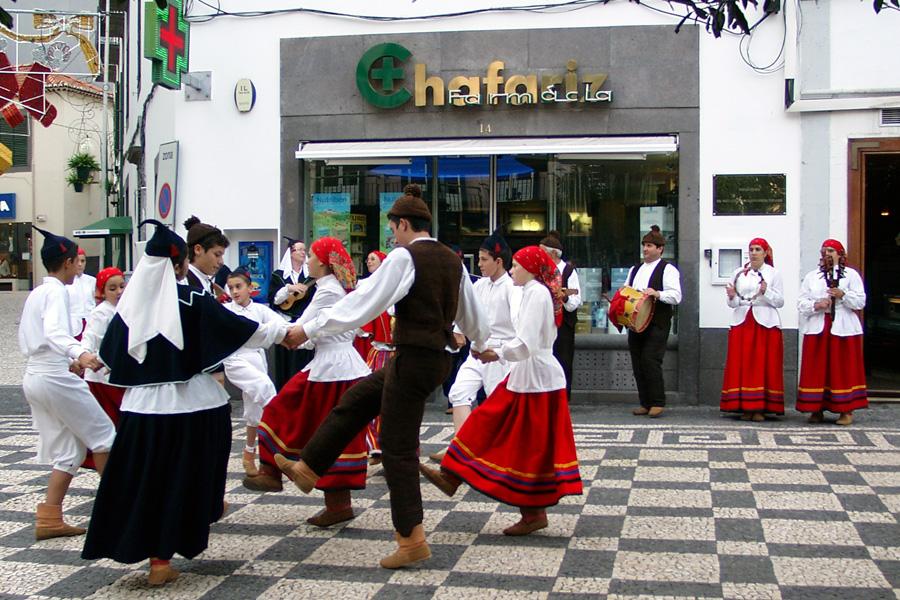 Tanz auf Madeira