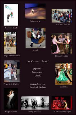 *Tanz* Collage von Susanna