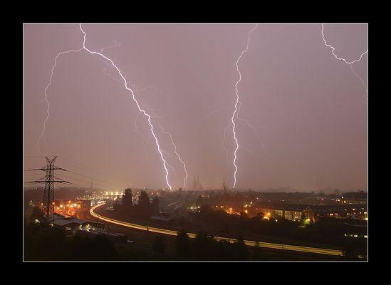 "Tanz der Blitze - oder ""Riders on the Storm"""