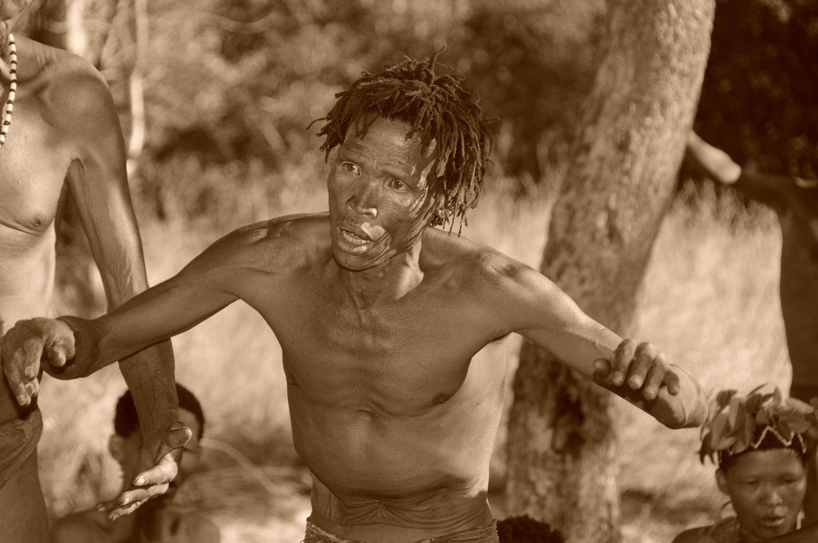 Tanz der Bushmen, Namibia