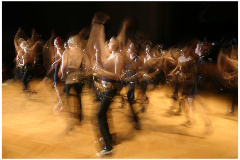 Tanz der Molleküle
