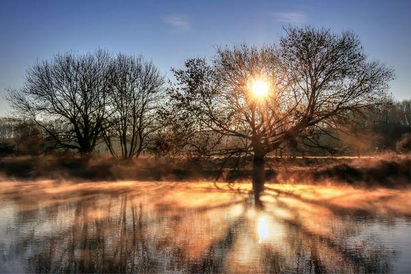 Tanz der Sonnenstrahlen