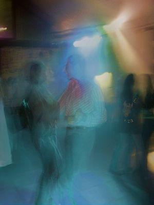 Tanz in Blau