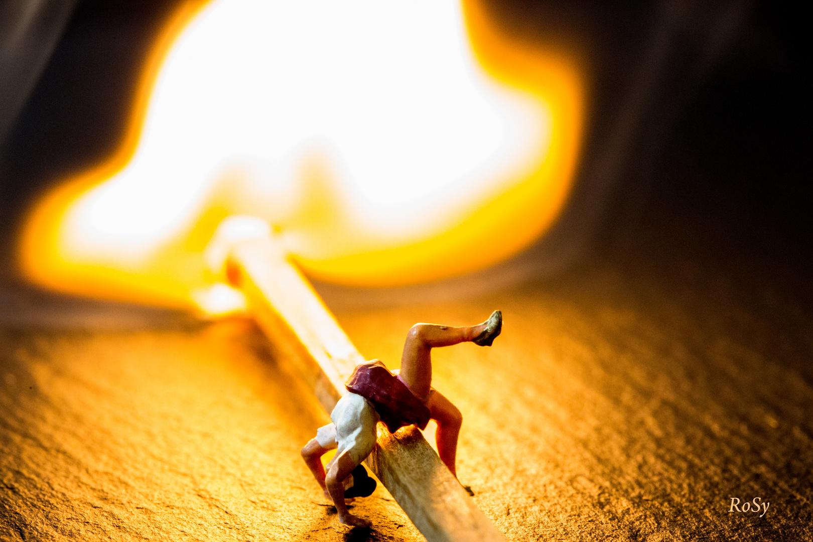Tanz mit dem Feuer