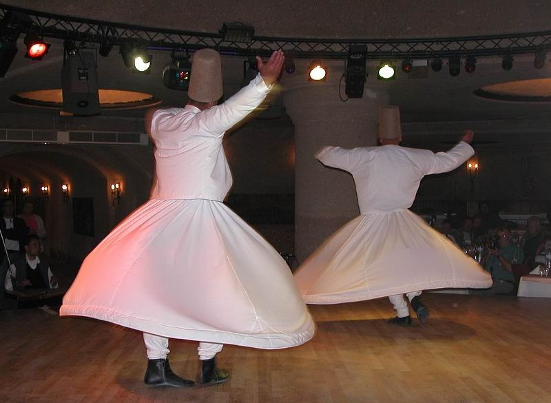 Tanzende Derwische des Mevlana Ordens