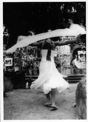 tanzende fee