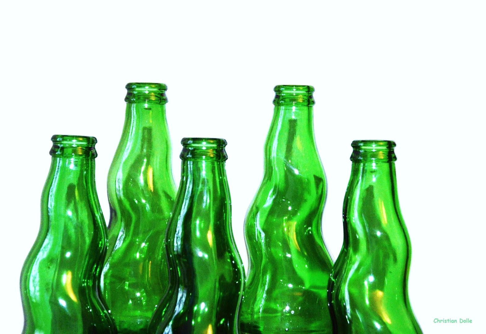 Tanzende Flaschen