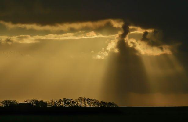 Tanzende Wolken