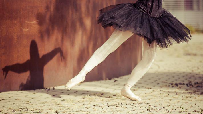 Tanzender Schatten