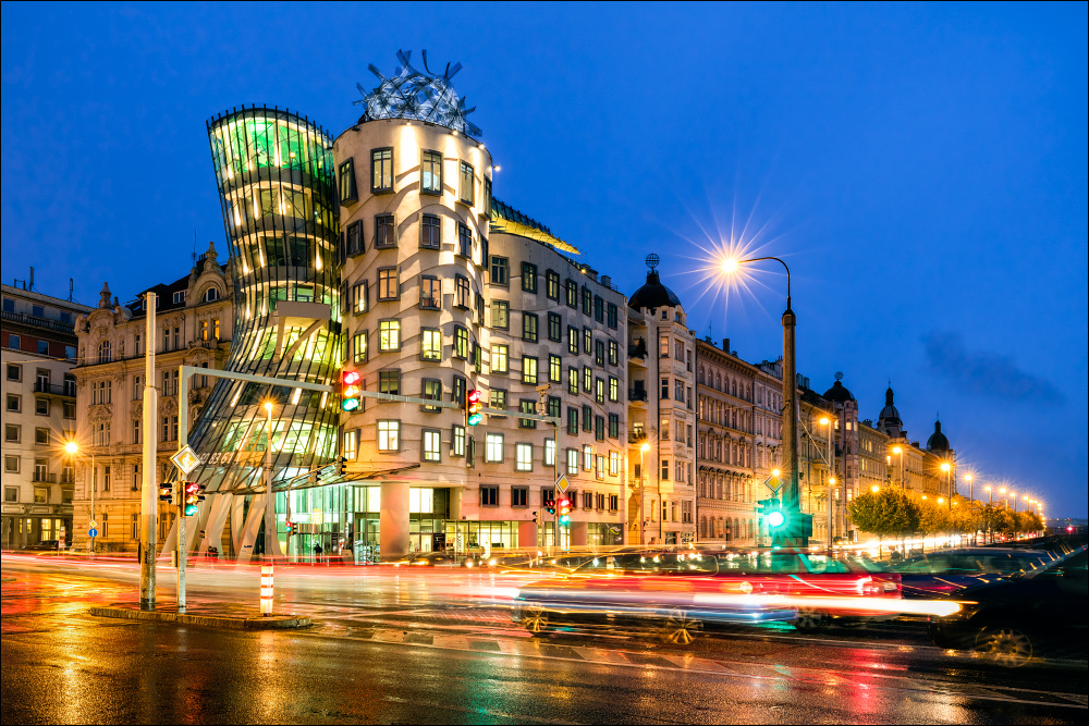 Tanzendes Haus in Prag Foto & Bild