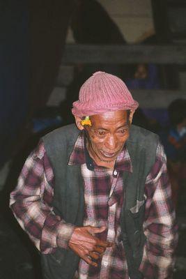 Tanzveranstaltung in Tal, Annapurna Trek