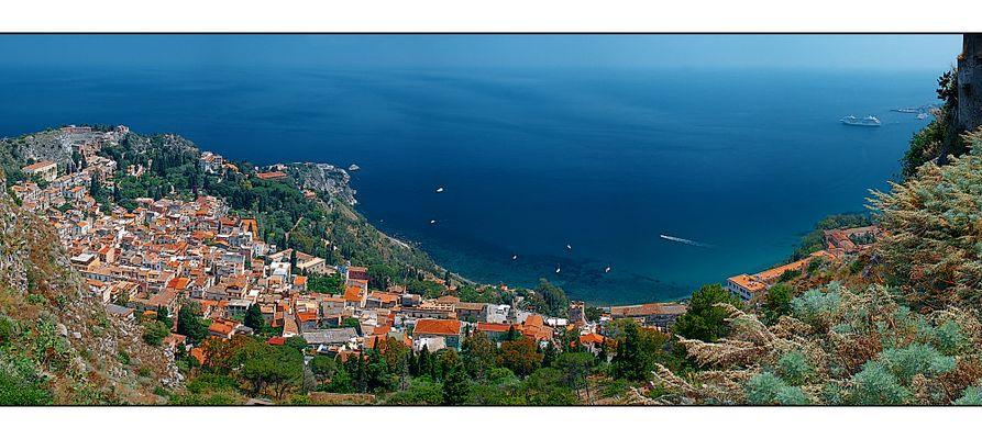 Taormina von oben