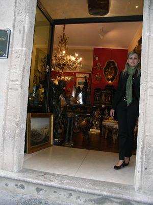 Taormina/Corso Umberto und seine opulenten Geschäfte