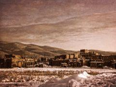 Taos Pueblo im Dezember 1965