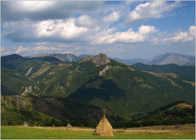 Westkarpaten in Romania