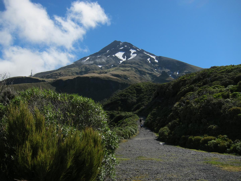 Taranaki nach dem Abstieg