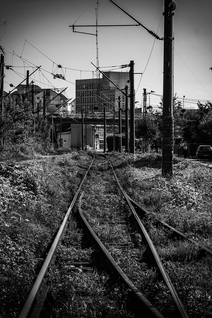 Targu Jiu Bahnübergang