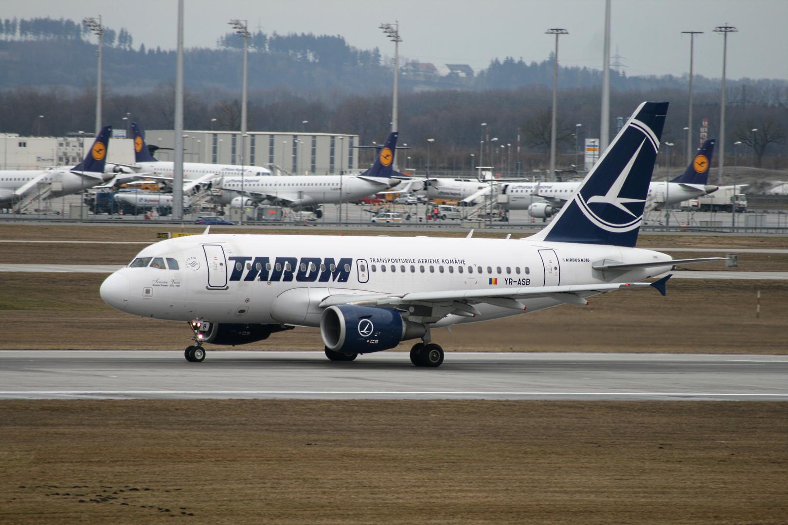 Tarom Airbus A318-111