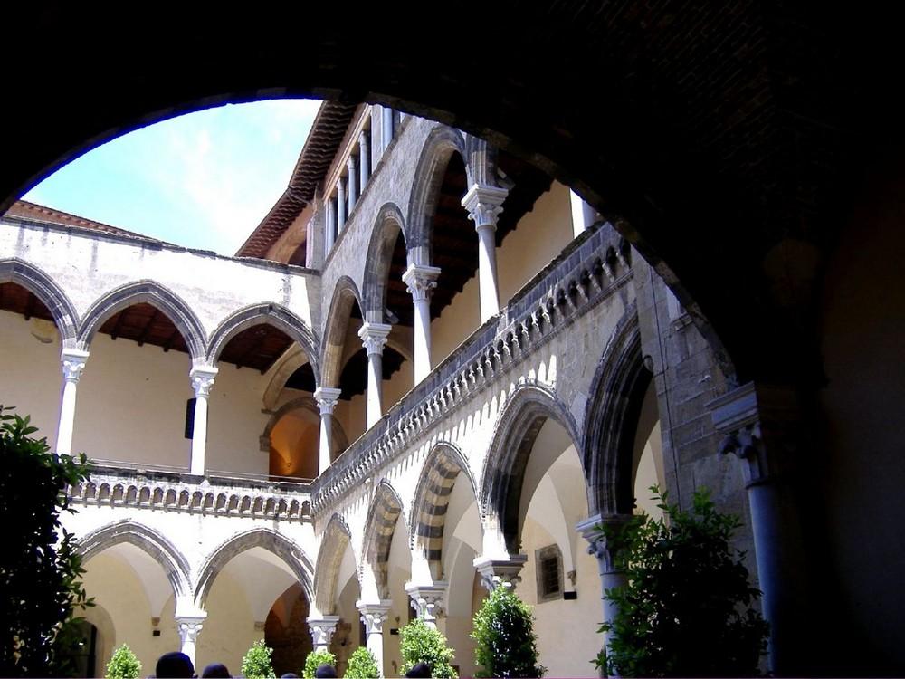 Tarquinia piazzale del museo
