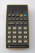 Taschenrechner HP-25