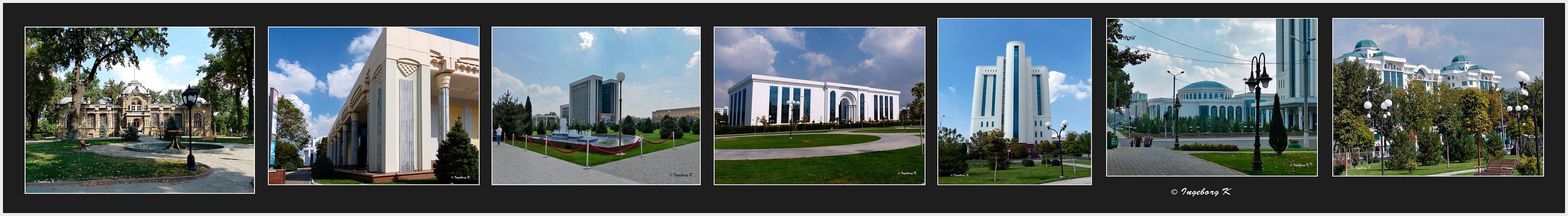 Taschkent - Bummel durch die moderne Stadt