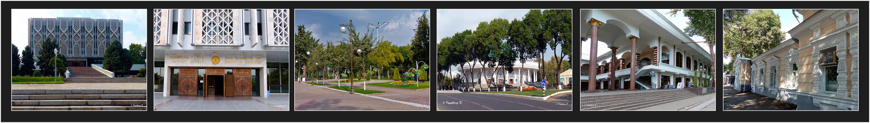 Taschkent - ein Streifzug durch die Stadt