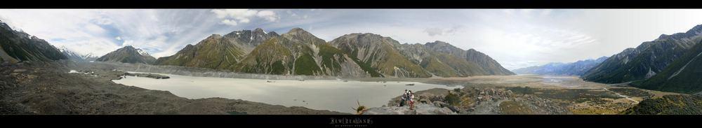 Tasman Clacier and Lake