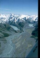 Tasman-Glacier in groß